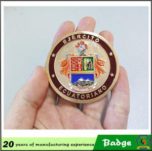 Metal Enamel Badges with Your Design pictures & photos