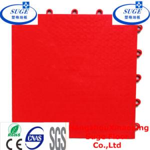 Red Multi-Purpose Suspended Modular Plastic Flooring pictures & photos