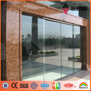 Ideabond Office Gate Simulation Marble Look Aluminum Cladding Panel (AE-501) pictures & photos