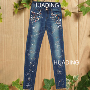 Wholesale Fashion European Style High Quality Jeans (HDLJ0033) pictures & photos