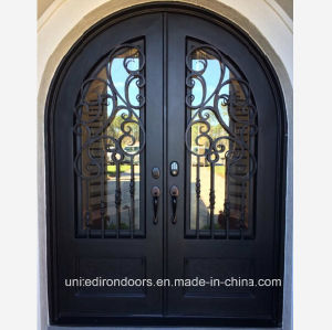 Made in China Wrought Iron Front Door (UID-D068) pictures & photos
