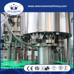 3 in 1 Stainless Steel Glass Bottled Beer Filling Machine pictures & photos