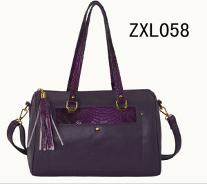 Combination PU fashion Handbag (ZXL058) pictures & photos