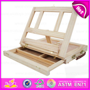 Painting Draw Wooden Magnetic Art Easel, Wooden Table Easel for Kids W12b063 pictures & photos