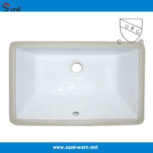 Good Quality Ceramic Undermount Basin with Cupc (SN016) pictures & photos