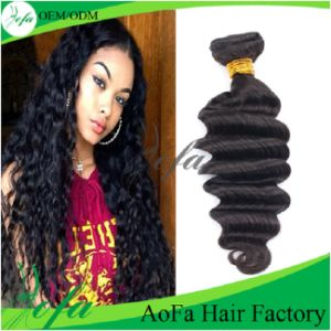 Different Types of Curly Weave Hair Indian Virgin Human Hair pictures & photos