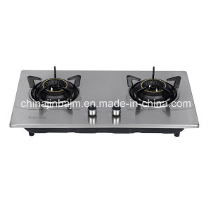 2 Burners 710 Stainless Steel Cooktop/ Built-in Hob/Gas Hob pictures & photos