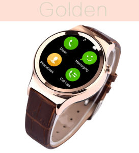 Round Stainless Steel Smart Watches pictures & photos