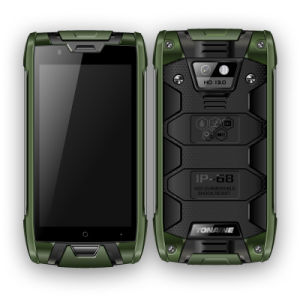4G Lte Dual SIM IP68 Waterproof Dustproof Rugged Cell Smartphone
