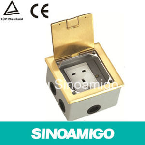 Open Type Floor Outlet Socket Distibution Box pictures & photos