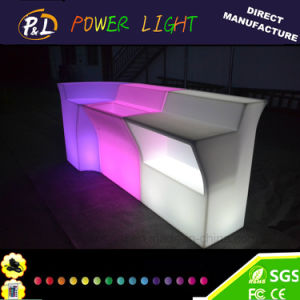 LED Furniture Plastic Illuminated Bar Counter pictures & photos