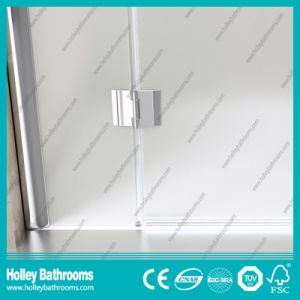 Pivot Door Ground Glass Single Door Selling Simple Shower Room (SE709M) pictures & photos