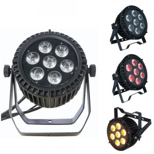 7X15W RGBWA 5 In1 Outdoor LED Flat PAR Can Light pictures & photos