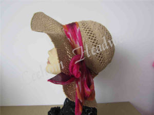 Fedora Lady Sun Hat (LB15091) pictures & photos