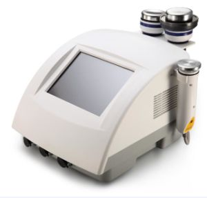 Portable Ultrasonic Cavitation+RF Skin Lifting Beauty Machine
