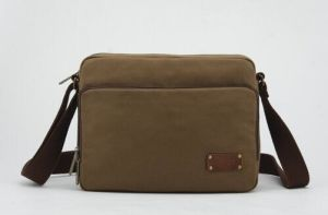 Mens Shoulder Messenger Canvas Bag Sh-16050920 pictures & photos