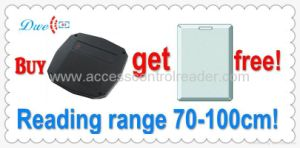 Widely Used for Car Packing 125kHz Wiegand 26/34/RS232 Long Range RFID Smart Card Reader pictures & photos