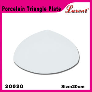Porcelain Dishwasher Safe Banquet High Intension Restaurant Plate