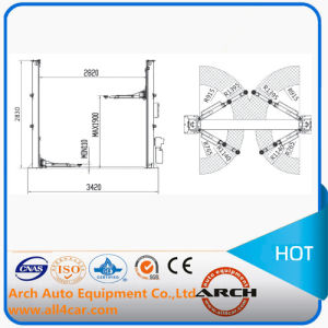 Auto Two Post/ Column Garage Equipment Car Lift pictures & photos