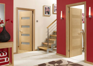 Bespoke High Value Internal Solid Wood Interior Doors with Both Fixed Panes pictures & photos