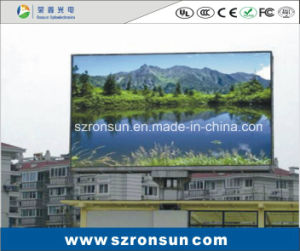 P10mm Outdoor Advertising Billboard Full Colour LED Display pictures & photos