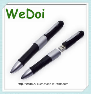 Promotional Pen USB Flash Drive with Customized Logo (WY-P12) pictures & photos