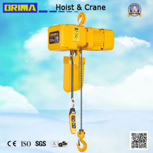 250kg Japan Type Electric Chain Hoist with Hook pictures & photos