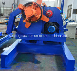 Double Heads Hydraulic De-Coiler Roll Forming Machine pictures & photos