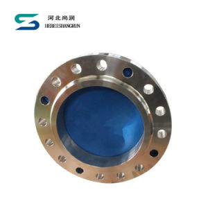 En 1092 Type 01 AISI 304 Plate Flange SS304 Plate Flange FF Dn500 Pn10 pictures & photos