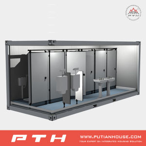 Customized ISO Standard Prefabricatd Modular Toilet Container pictures & photos
