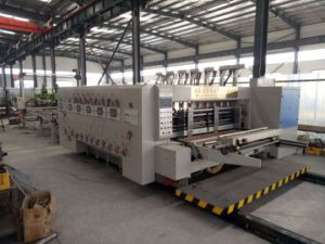 Box Maker Series Auto Corrugated Paper Board Printer (with Slotter) pictures & photos