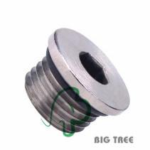 Brass Inner Hex Plug BSPT Thread pictures & photos