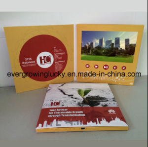 Factory Supplier 7.0inch Video Card with Custom Printing pictures & photos