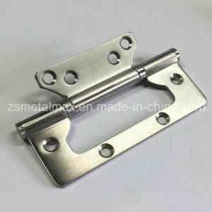 Stainless Steel 5 Inch 2 Ball Bearings Flush Hinge with Radius (205030-1) pictures & photos