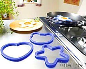 Hot Selling Multi Shape Silicone Fried Egg Molds pictures & photos