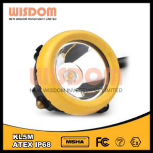 Supplier Good Price LED Miners Helmet Light, Mining Headlamp Kl5m pictures & photos