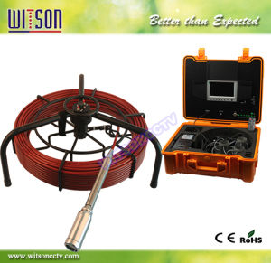 Witson 40mm Self-Leveling Sewer Camera for Drain Cleaning 60m Fiberglass Cable (W3-CMP3588) pictures & photos