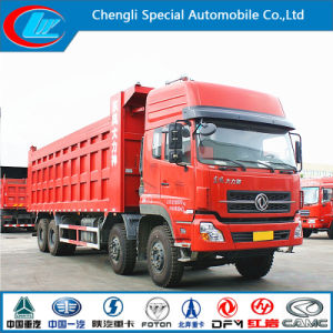 20cbm Dongfeng 8X4 Dump Truck with Large Load Volume pictures & photos