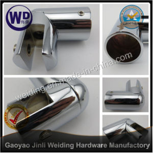 Shower Round Tube Support Bar Bracket Wt-6636 pictures & photos