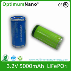 Rechargeable 3.2V 5ah Lithium Ion 32650battery 5000mAh Battery pictures & photos