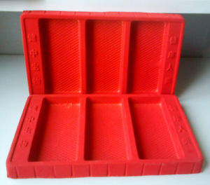 Disposable PS Flocking Tray for Cosmetic pictures & photos