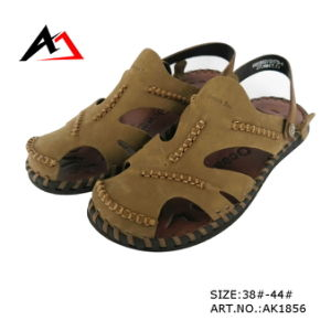 Leather Sandal Shoes Fashion Casual Comfortable Shoe for Men (AK1856) pictures & photos