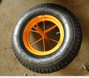 China Industrial Products 16X4.00-8 Wheelbarrow Wheel pictures & photos