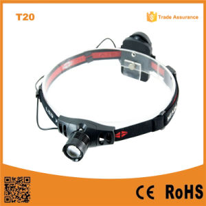 150lumens Telescopic CREE Xr-E Q5 LED Headlamp (POPPAS- T20) pictures & photos