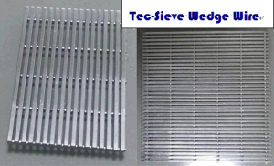 Tec-Sieve Wedge Wire Screen Mesh Panels pictures & photos