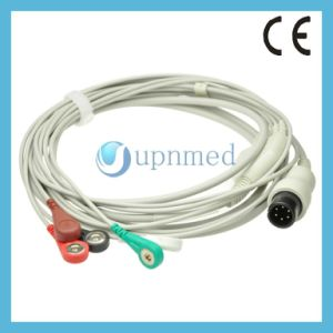 Physio Control Lifepak 9b Patient ECG Cable with Leadwires pictures & photos