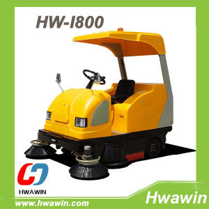 High Performance Ride on Electric Road Sweeper pictures & photos