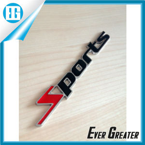 Customized Plastic Badge Emblems Sticker 3D Metal Car Auto 3D Alloy Badge pictures & photos