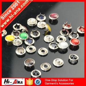 High Quality Dry Fit Customization Various Colors Metal Button pictures & photos