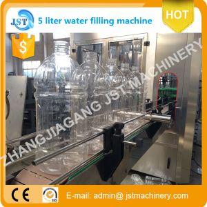 Automatic 5L Bottle Liquid Aqua Filling Production Machine pictures & photos